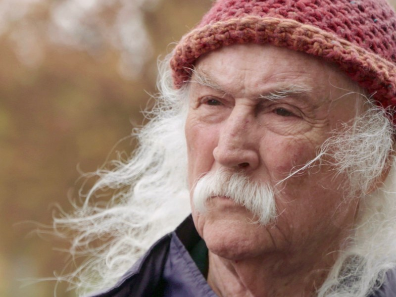 David Crosby appears in David Crosby: Remember My Name.