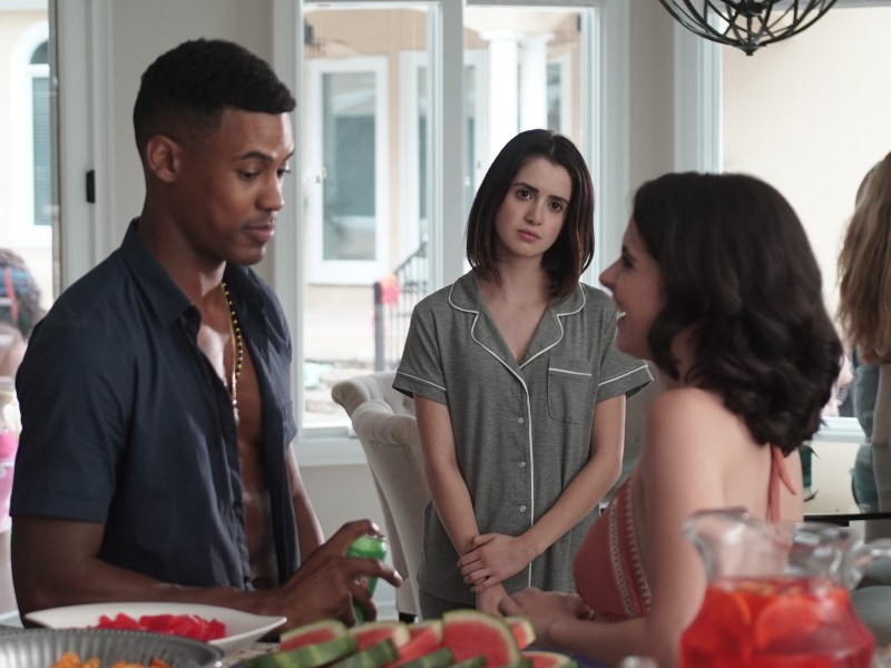 Chris Tavarez, Laura Marano, and Vanessa Marano in Saving Zoë.