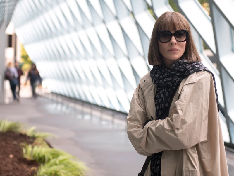 Cate Blanchett stars as Bernadette Fox in Richard Linklater's WHERE'D YOU GO, BERNADETTE, an Annapurna Pictures release.