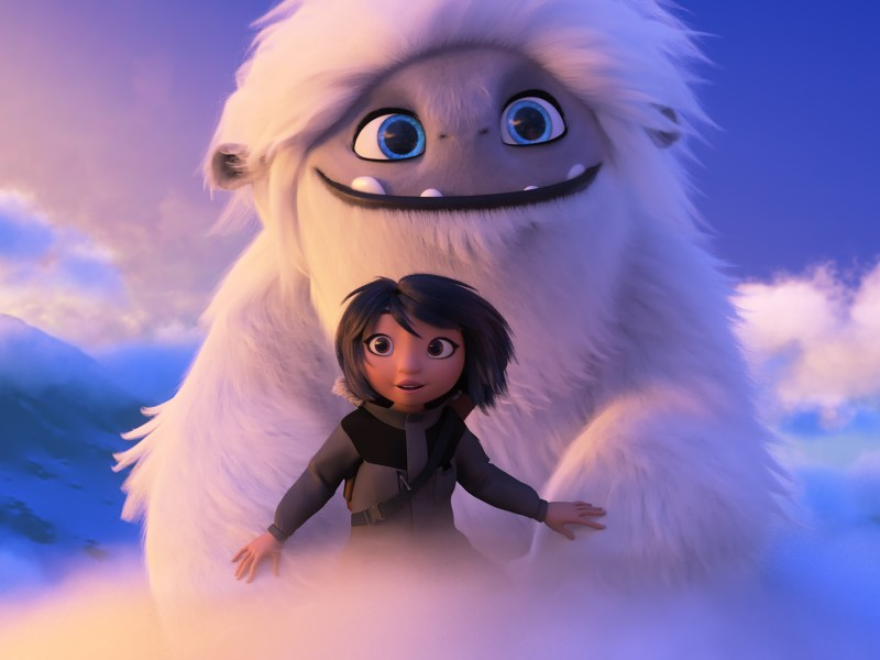 Yi and Everest in Abominable