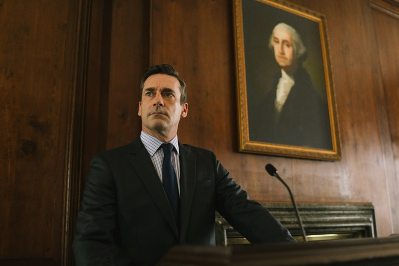 Jon Hamm appears in The Report.