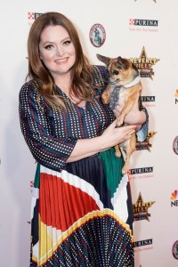 Lauren Ash at the Beverly Hills Dog Show Presented by Purina 2020