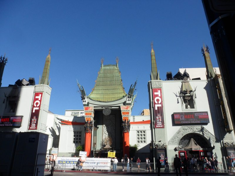 TCL Chinese Theatre, movies