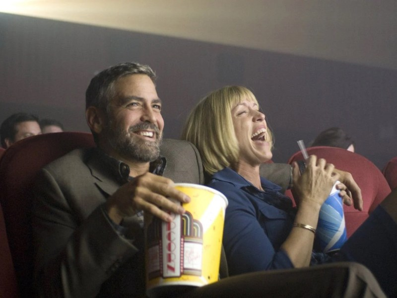 George Clooney and Frances McDormand in Burn After Reading. Courtesy of Focus Features.