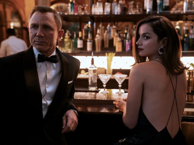 James Bond and Paloma in No Time to Die