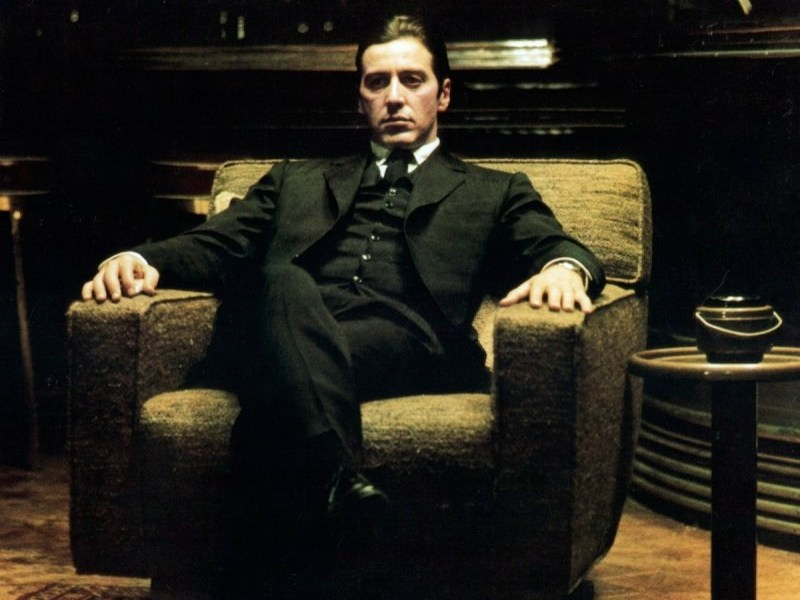 Al Pacino in The Godfather: Part II