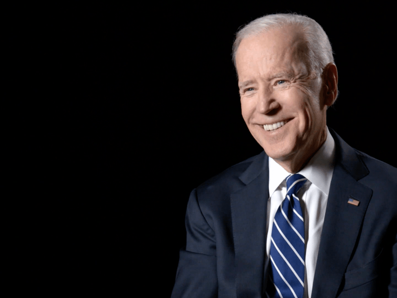Joe Biden in President in Waiting.