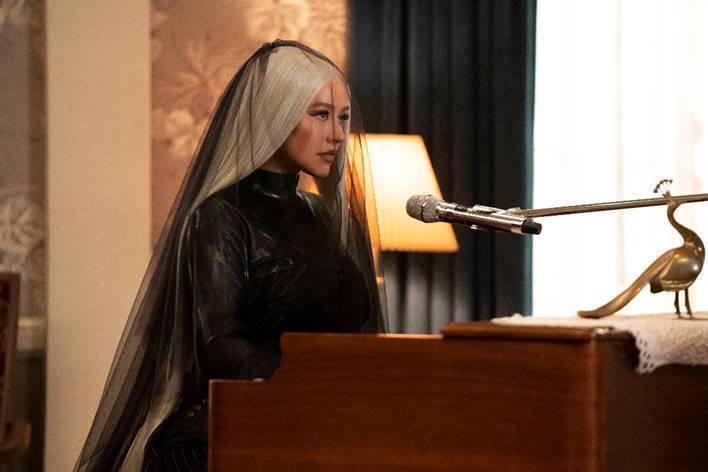 Christina Aguilera in Yearly Departed