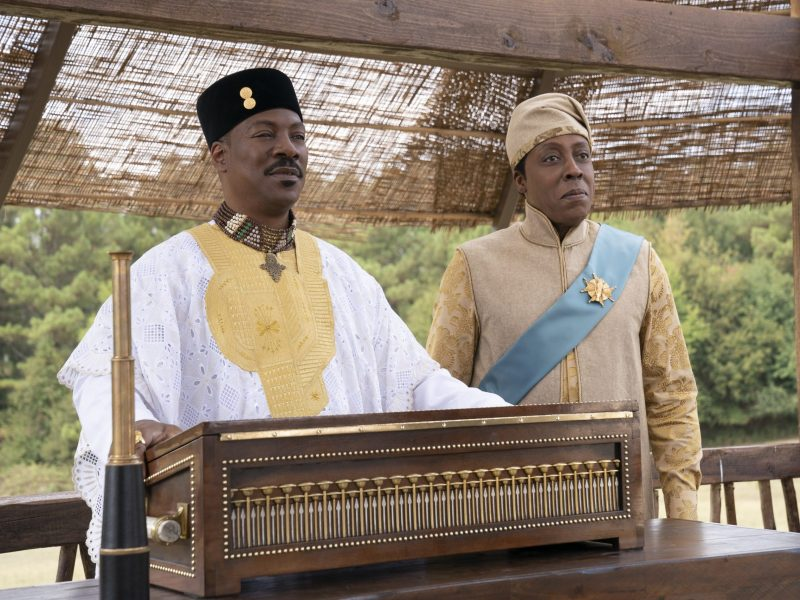 Eddie Murphy and Arsenio Hall star in Coming 2 America.