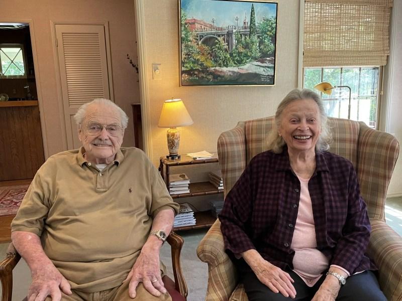 William Daniels and Bonnie Bartlett
