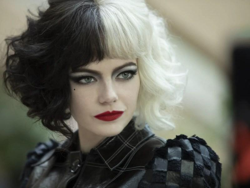 Emma Stone as Cruella in Cruella.
