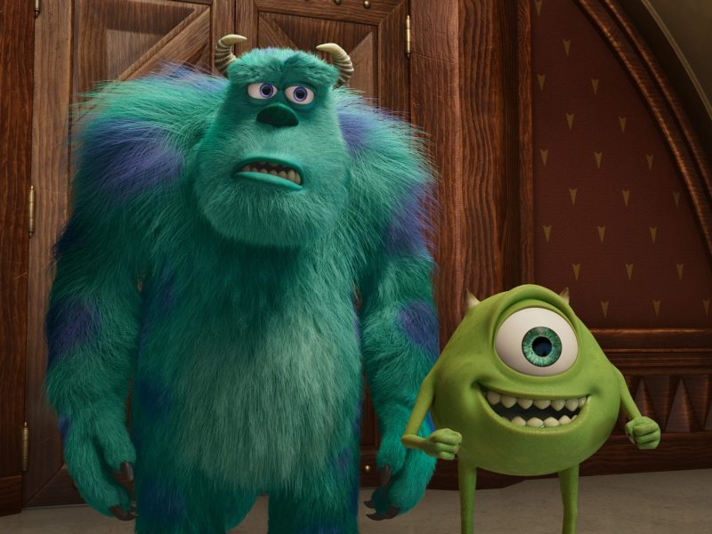 Sulley and Mike in Monsters at Work