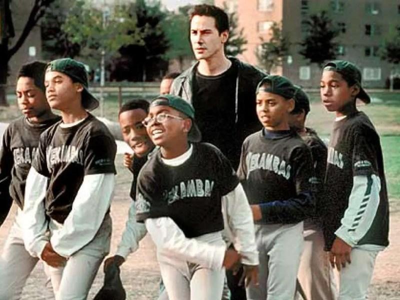 Keanu Reeves in Hardball
