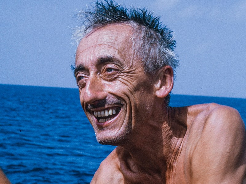 Jacques-Yves Cousteau in Becoming Cousteau
