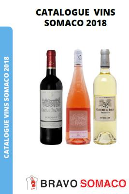 Catalogue 2018 des vins de la SOMACO