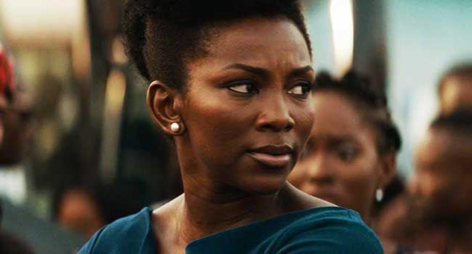 Nigerian actress, Genevieve Nnaji in her film, 'Lionheart'. Netflix