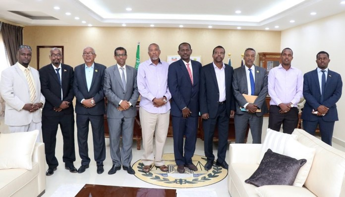 President receives Djiboutian delegation