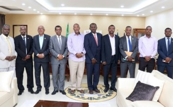 President receives Djiboutian delegation