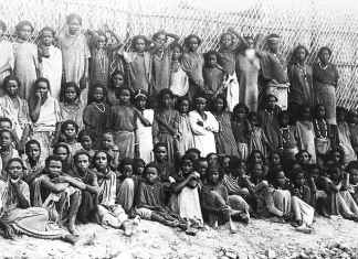 Oromo children saved from slavery. Supplied by author