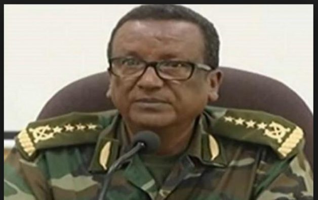 Armed Forces Chief of Staff General Saere Mekonnen