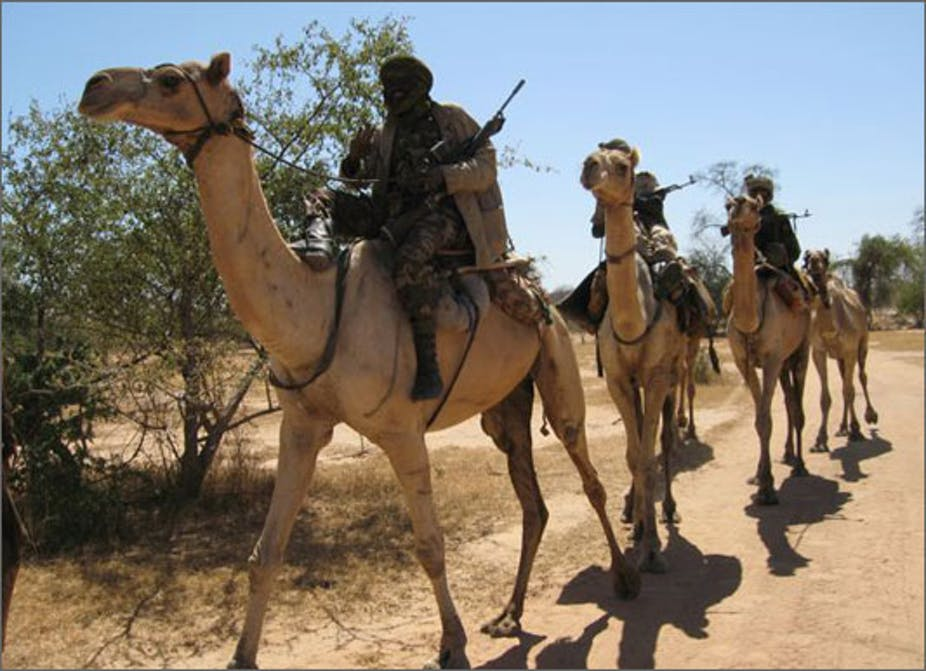 Sudan's Rapid Support Forces evolved from the Janjaweed militia that once terrorised the people of Darfur. mOrso1/Flickr
