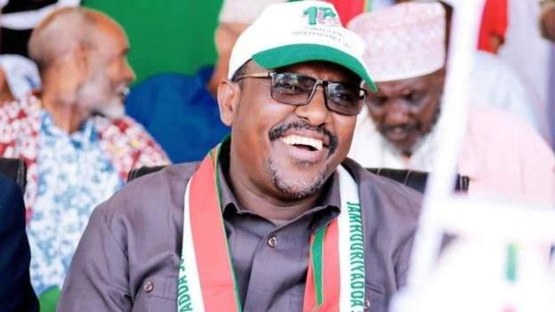 Suleiman Yusuf Koore became Somaliland's information minister in December (Suleiman Yusuf Koore/Facebook/BBC)