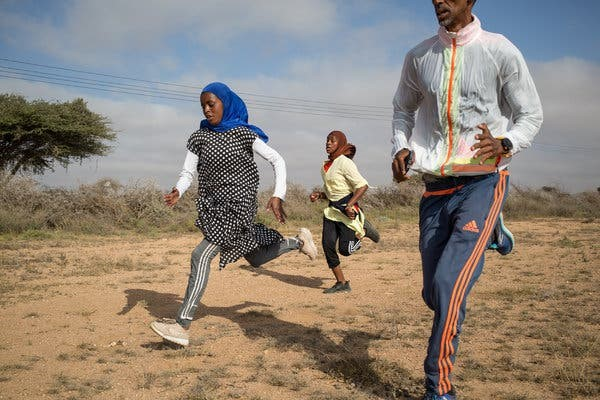 10-kilometer race in Somaliland that's become popular with women