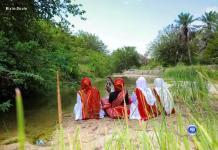 Local tourists at Bixinduule,Saahil somaliland