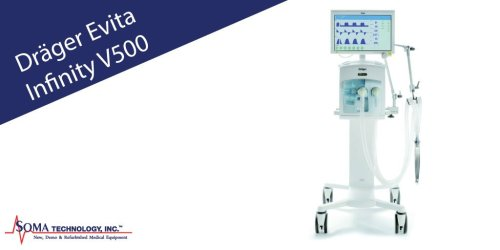 Drager Evita Infinity V500 High Performance Ventilation
