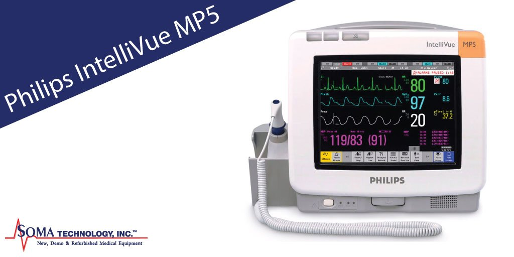 philips intellivue mp5 patient bedside monitor multiparameter monitor rh somatechnology com