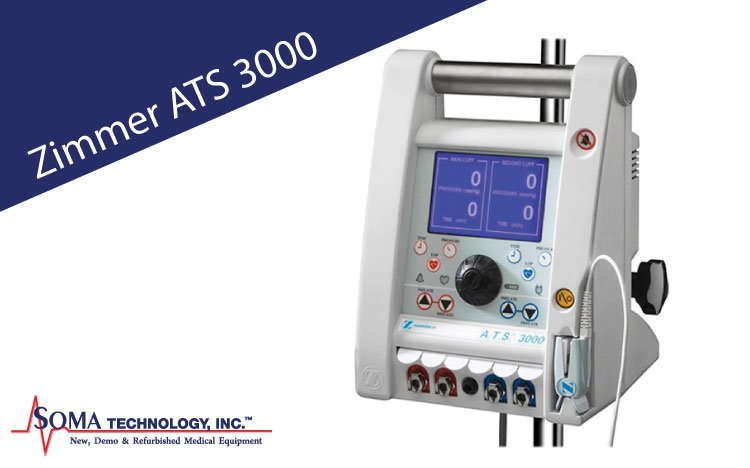 Zimmer ATS 3000 - Automatic Tourniquet System - Soma Technology, Inc.