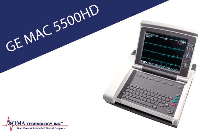 GE MAC 5500 HD - EKG System - Soma Technology, Inc.