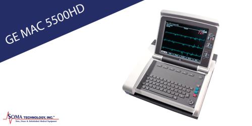 GE MAC 5500 HD - EKG System - Soma Technology, Inc.