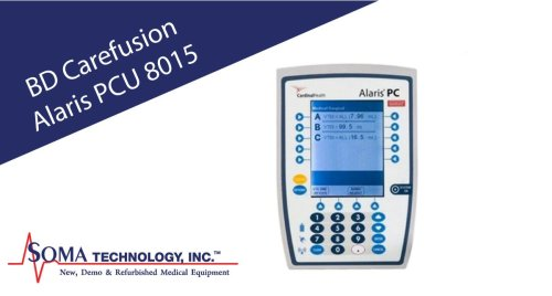 Alaris Pump 8015