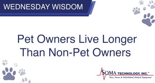 Pet Owners Live Longer