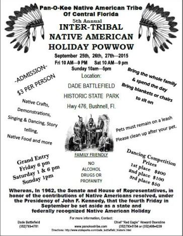 Panokee Cherokee Powwow