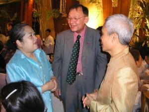 Sombath at Ramon Magsasay Award Ceremony