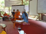 Sombath-Monk development workshop at Nakoun Noi temple