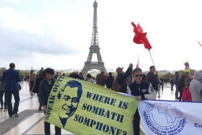 Paris-March for the Freedom of Minorities and Oppressed Peoples-2017