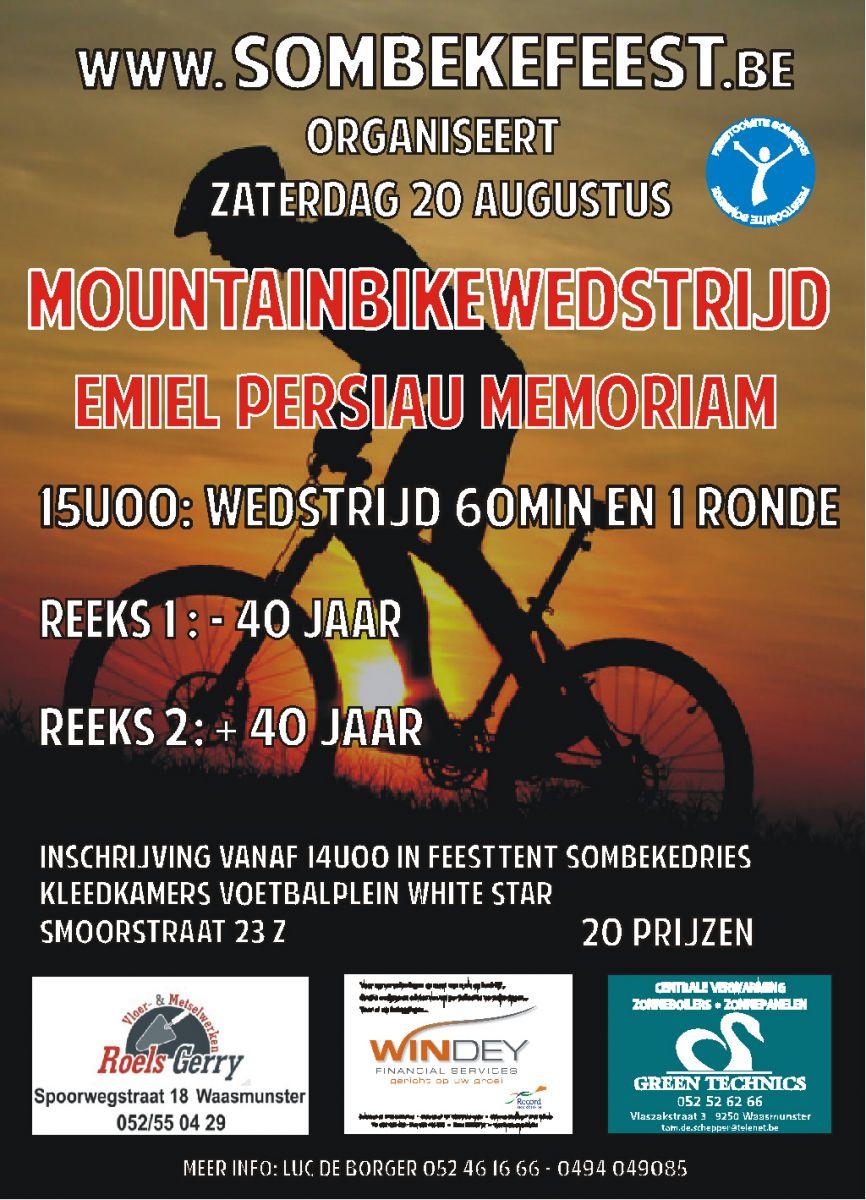 de Schandpaalloop (zaterdag 20 augustus), de MTB wedstrijd (zaterdag 20 augustus)