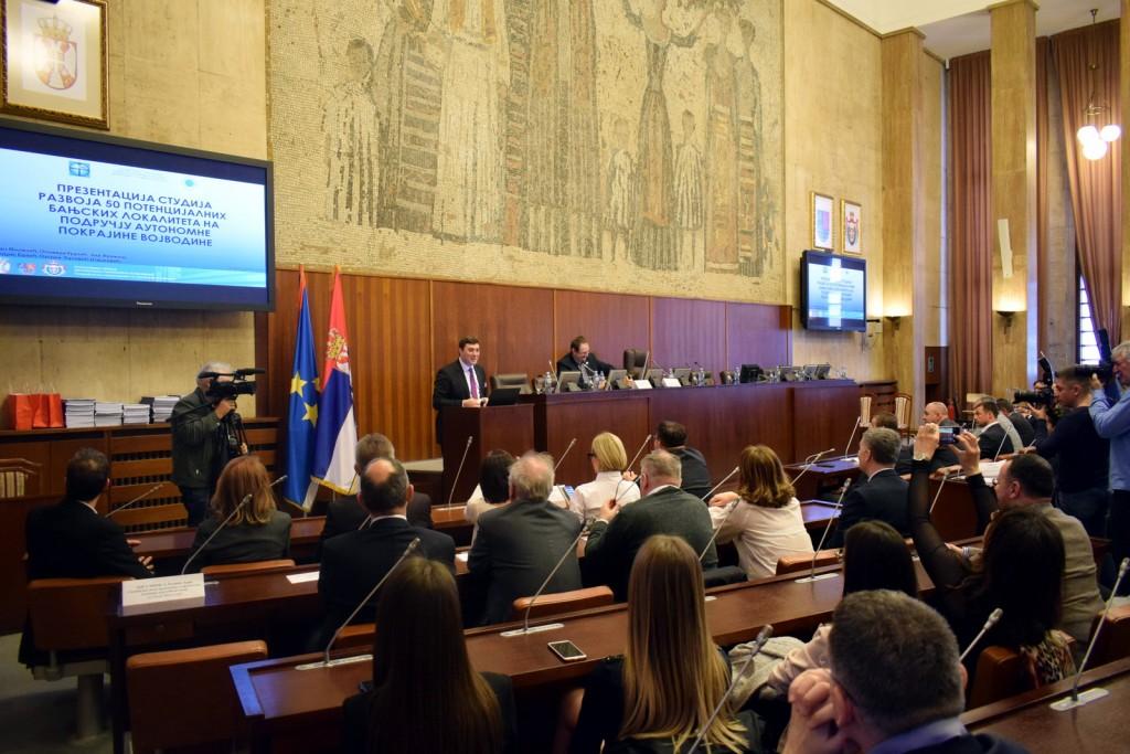 """Конференција """"Презентација студија развоја педесет потенцијалних бањских локалитета на подручју Аутономне Покрајине Војводине"""""""