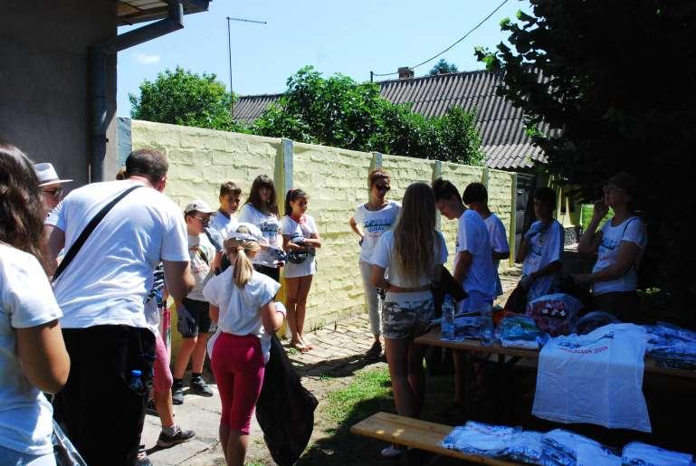 Окупљање волонтера у Бачком Моноштору