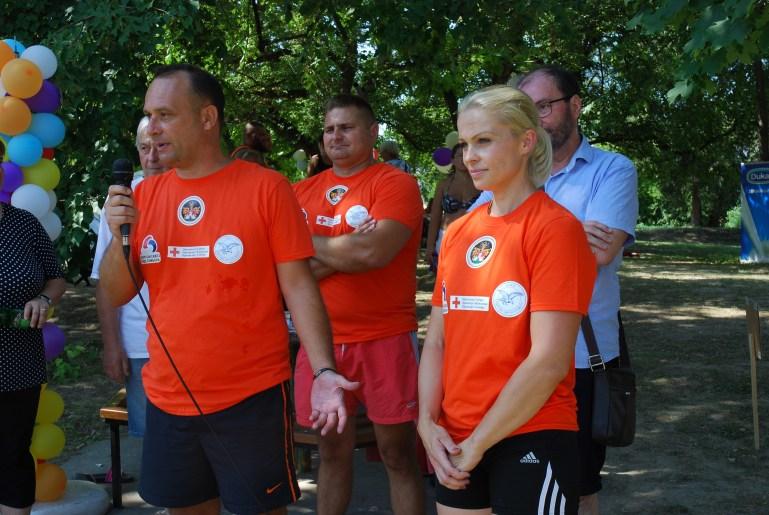 Већница Антонија Нађ Косановић и председник Спортског савеза града Сомбора Милан Стакић отворили су манифестацију