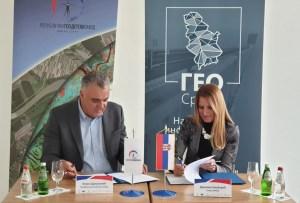 Градоначелница Душанка Голубовић потписала Споразум О сарадњи са Републичким геодетским заводом