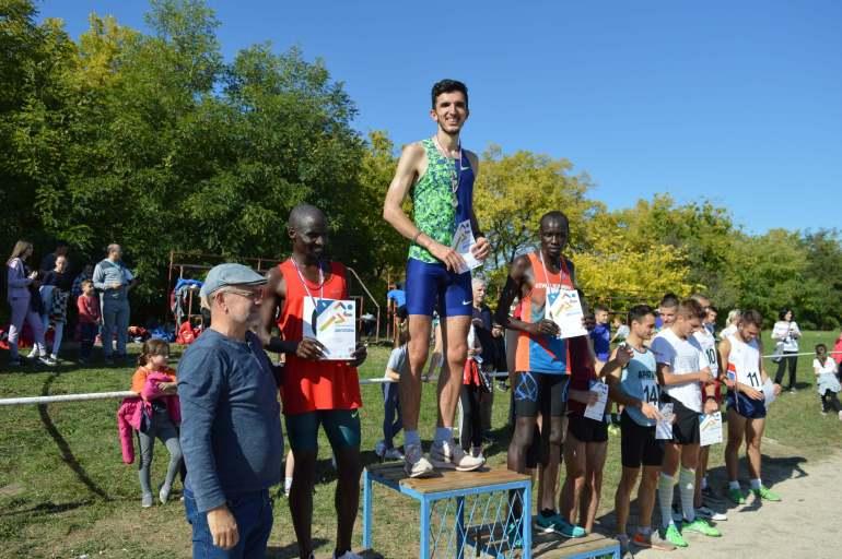 Победници у категорији сениора у трци на 5000 метара