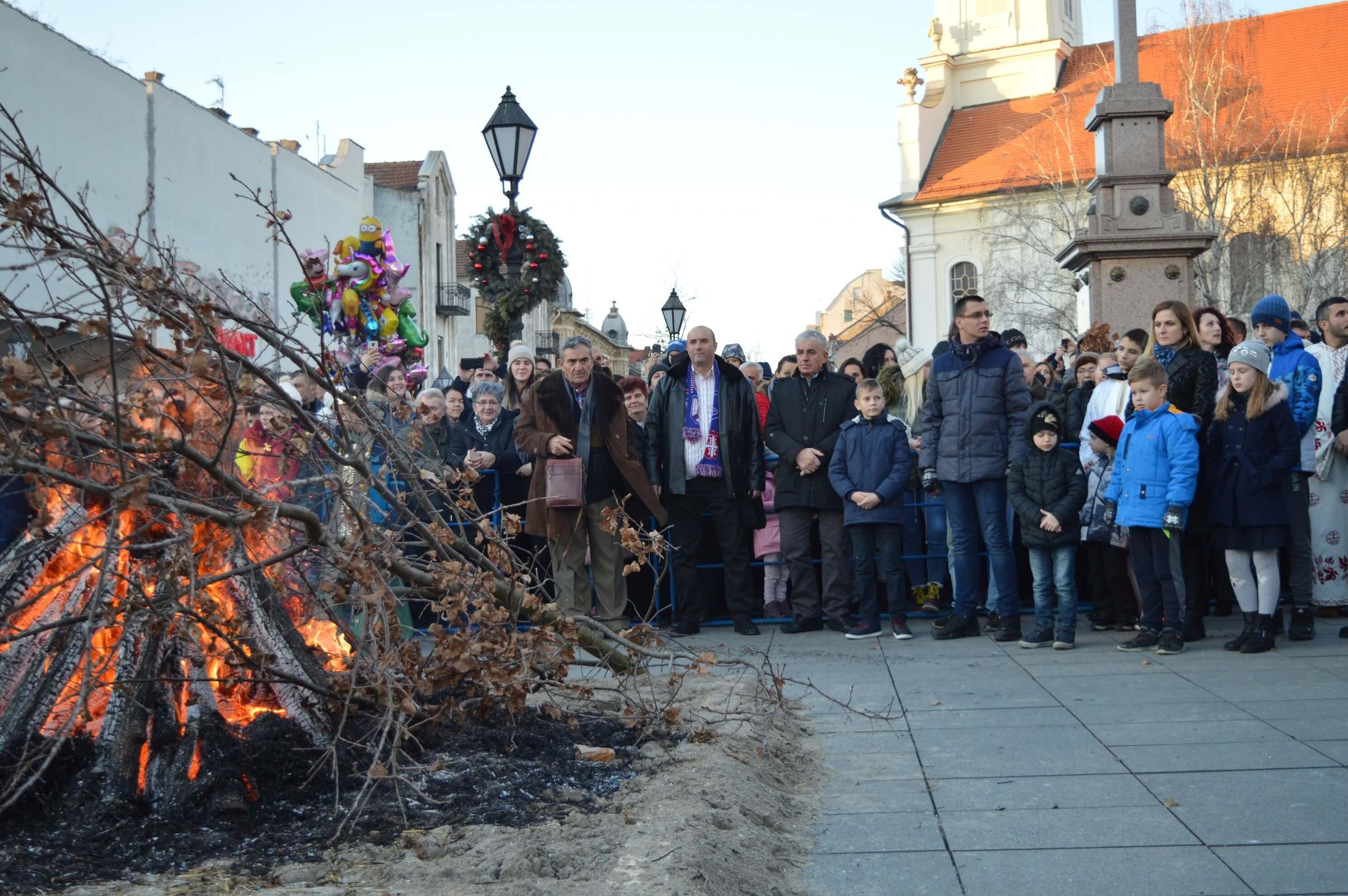 Sombor dobio prvi Park novogodišnjih jelki