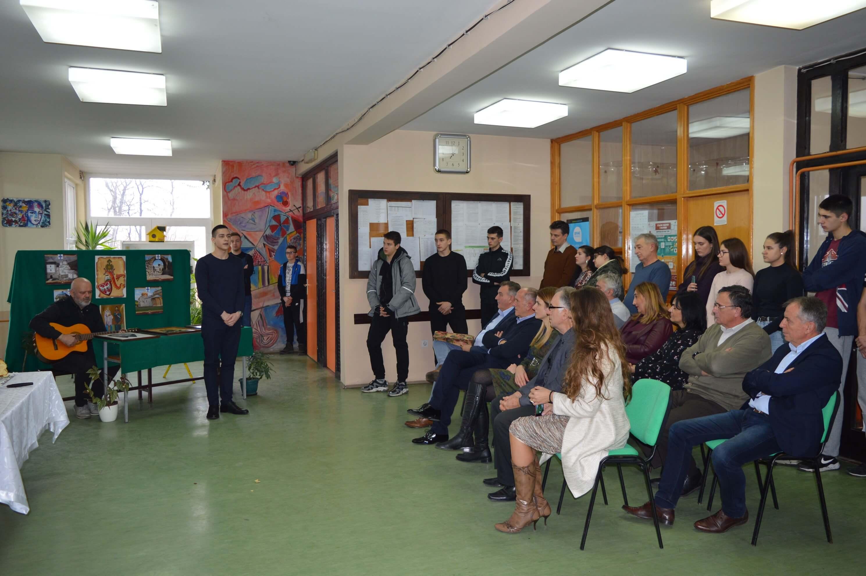 Светосавске свечаности приређене су у основним и средњим школама на територији града Сомбора