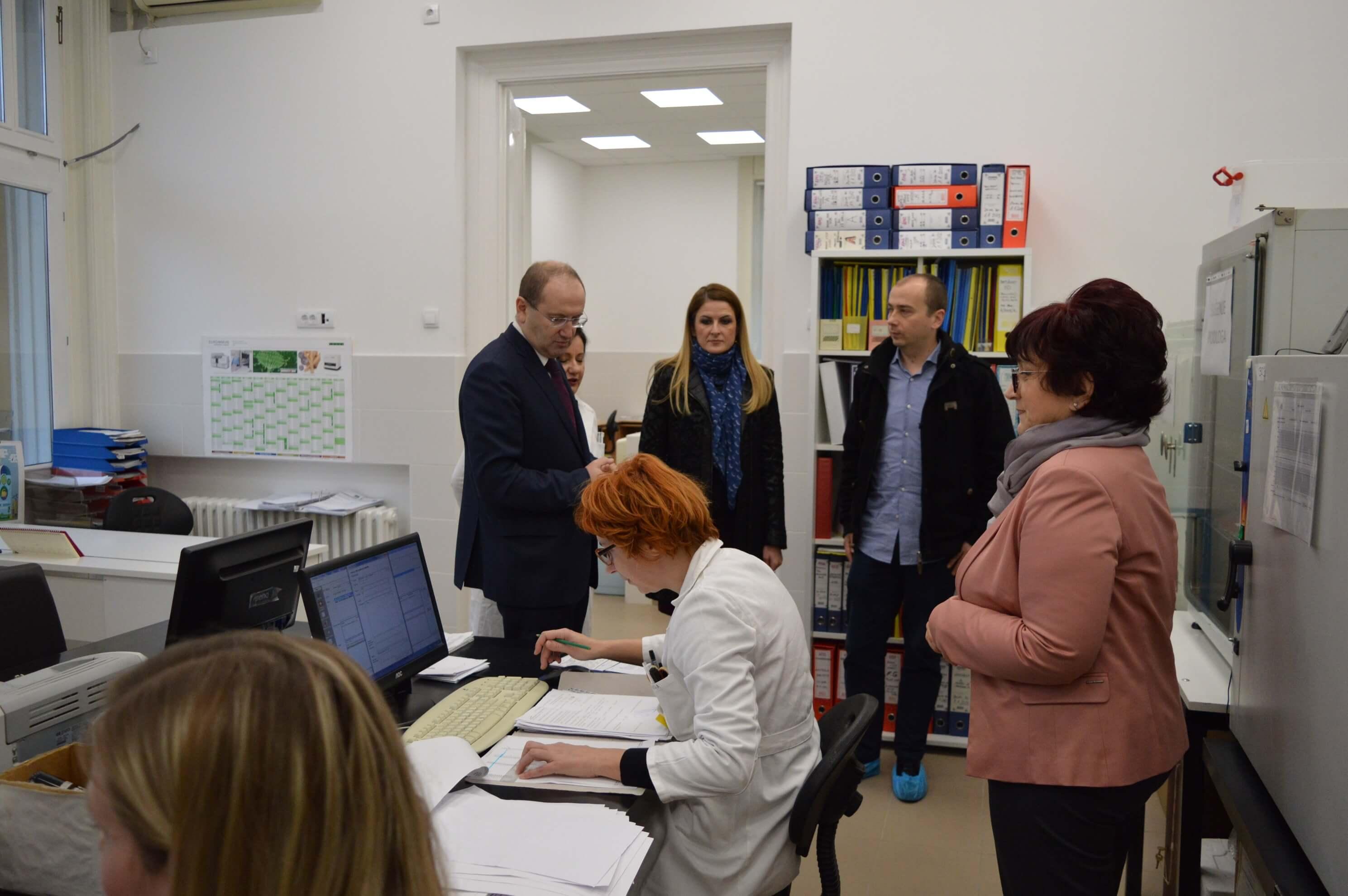 Обилазак завода за јавно здравље у Сомбору