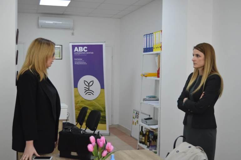 Градоначелница Сомбора Душанка Голубовић у посети Агробизнис центру