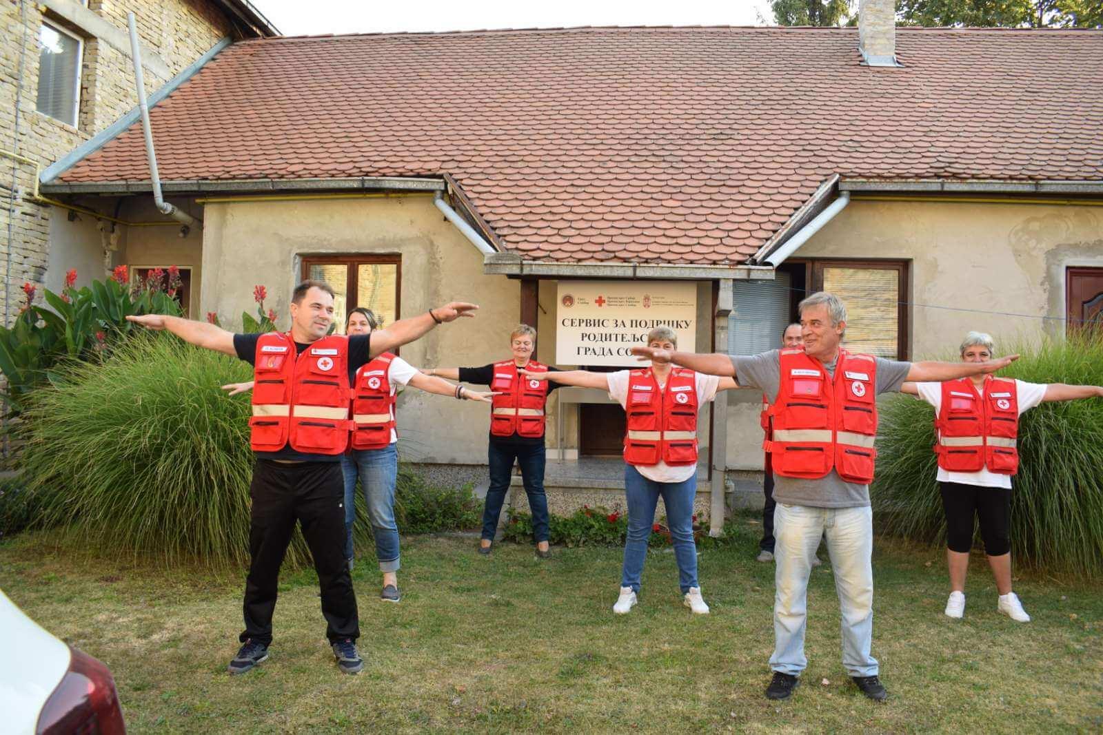 Спортска рекреација у Црвеном крсту